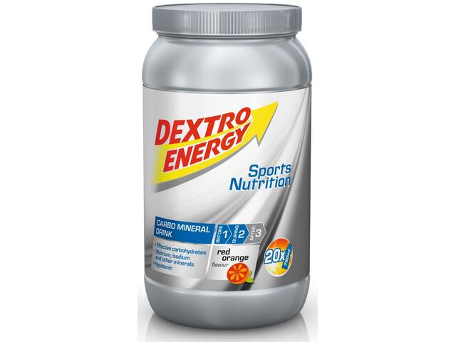 Dextro Energy IsoFast Carbo Mineraaldrank Tub 1120g, Red Orange